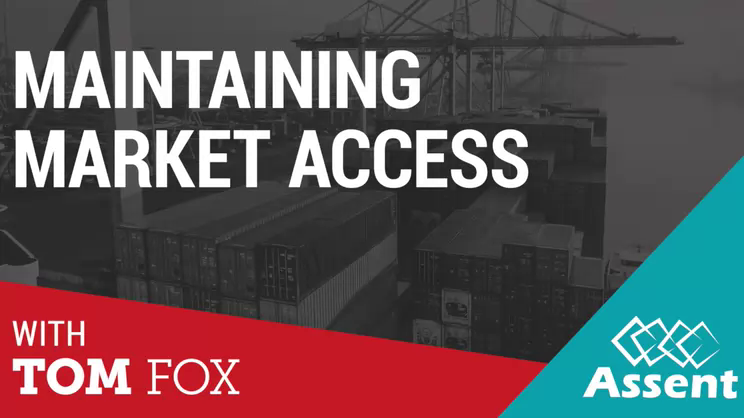 Maintaining Market Access: Part 1 - Introduction to Market Access