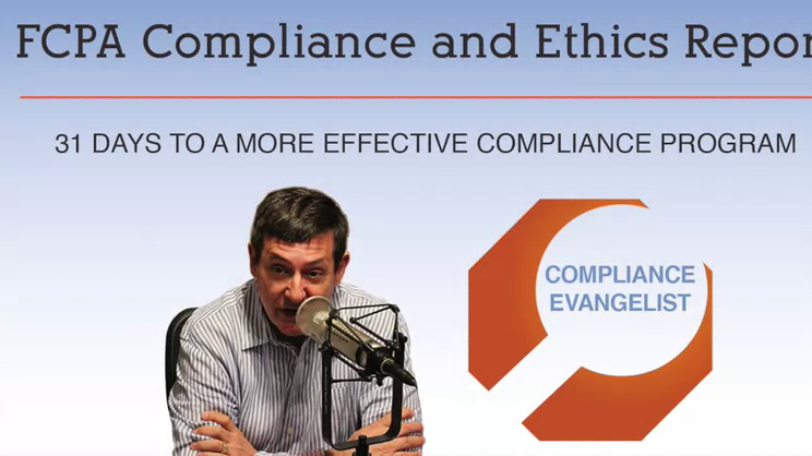 Day 13 of 31 Days to a More Effective Compliance Program