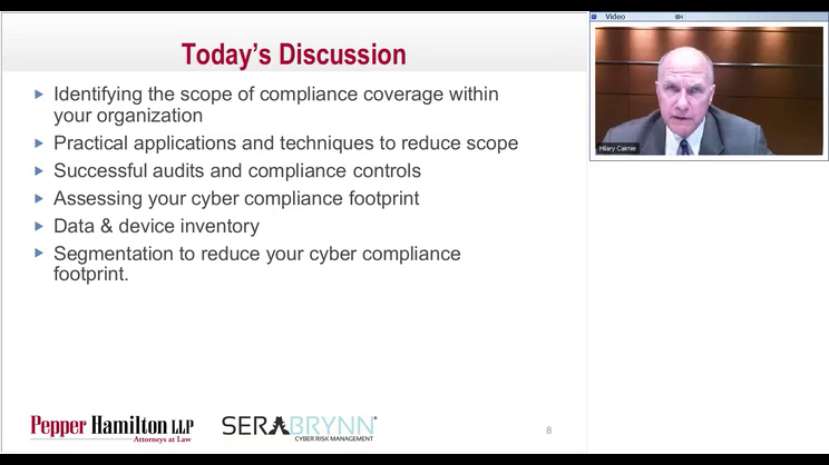 Government Contracts Cyber Cafe Series: Reducing Scope for Compliance - DFARS, NIST, PCI, FERPA