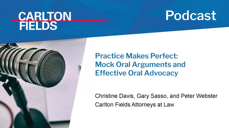 Practice Makes Perfect: Mock Oral Arguments and Effective Oral Advocacy