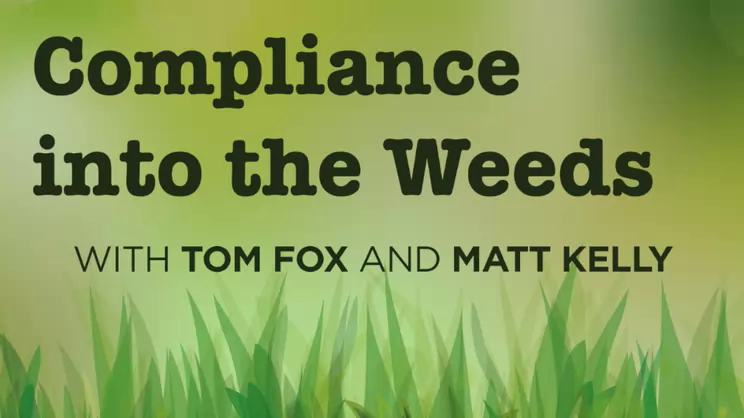 Compliance into the Weeds: Episode 98- the Benczkowski  Memo