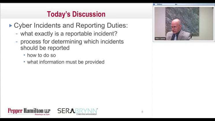 The Government Contracts Cyber Café - Cyber Incidents and Reporting Duties