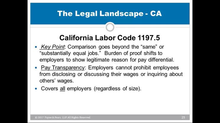 Equal Pay Act | JD Supra