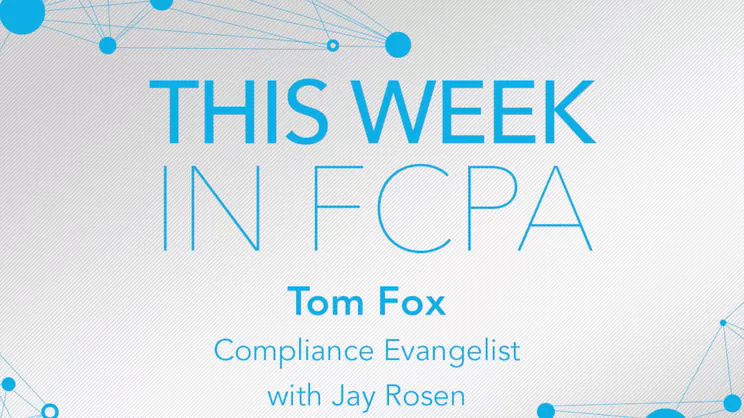 This Week in FCPA-Episode 94, the March Madness edition