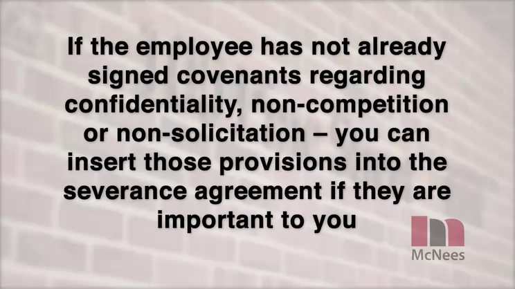 Severance Agreements - Protect Your Company from Employee Backlash