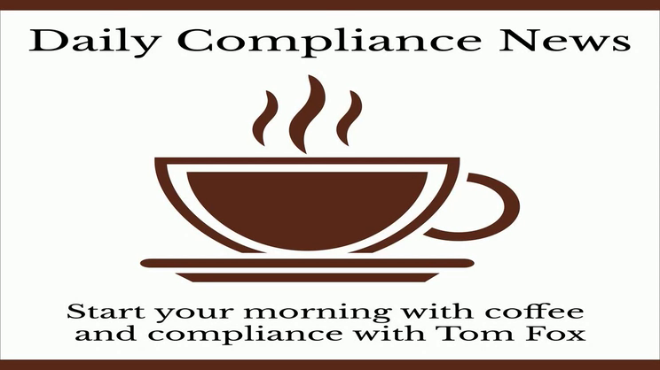 Daily Compliance News - September 25, 2021 - The Bribery Edition