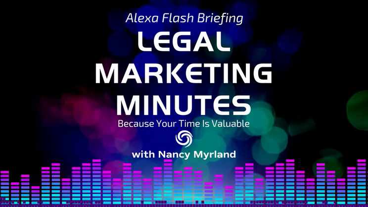 [EP. 9 LEGAL MARKETING MINUTES] Help Your Lawyers Become Better Presenters