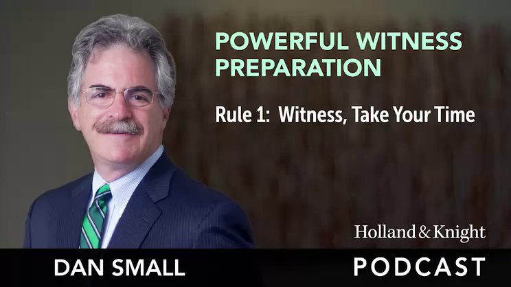 Podcast - Rule 1: Witness, Take Your Time