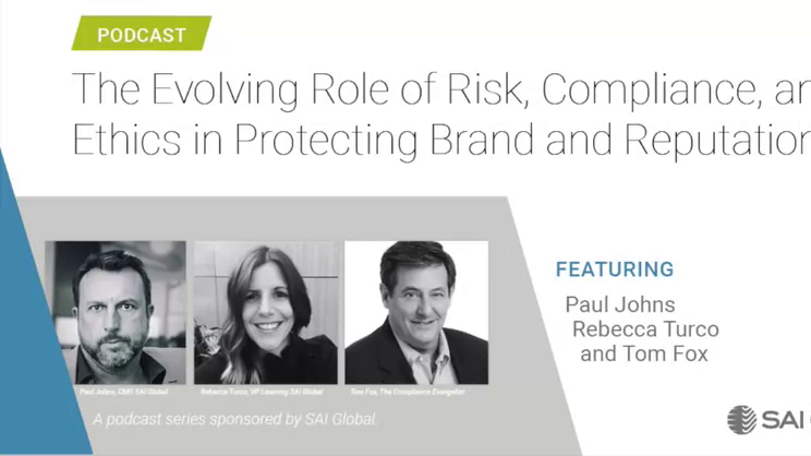 The Evolving Role of Risk, Compliance, and Ethics: Part I-the Changing Ethics & Compliance Marketplace
