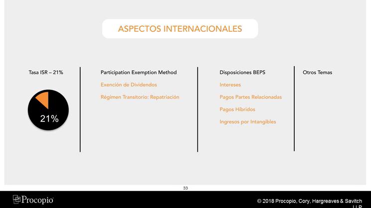 Meritas Capability Webinar: Reforma Fiscal de los EE.UU. y Su Impacto en LatinoAmerica