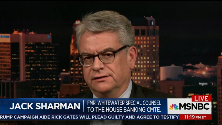 Jack Sharman discusses Rick Gates Plea on The 11th Hour with Brian Williams