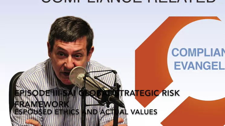 A Strategic Culture Framework to Manage Risk: Part III-Espoused Ethics and Actual Values