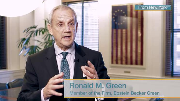 eeoc releases fy 2015 data an interview with ronald m green epstein becker green jdsupra