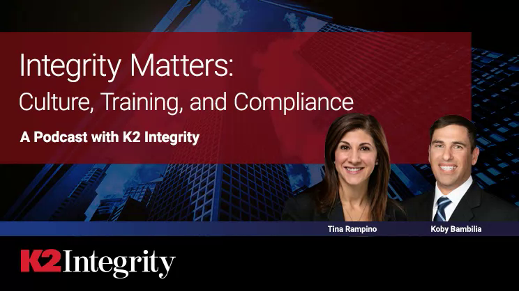 K2 Integrity - Integrity Matters: Culture, Training and Compliance - Part 5: Operational Aspects of Training