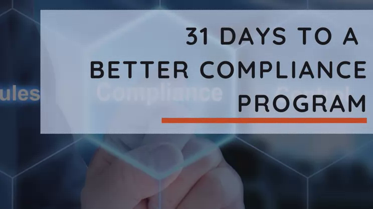 31 Days to a More Effective Compliance Program -Employment separation and compliance